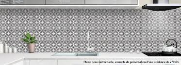 cuisine mosaique credence plexiglas pour cuisine mosaique orientale