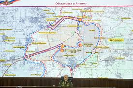 Map Of Syria And Russia Russia Syria Halt Airstrikes In Aleppo In Goodwill Gesture