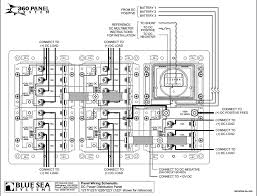 blue sea systems 1221 360 series dc panel main 19 position dmm rr