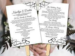 In Memory Of Wedding Program The 25 Best Diy Wedding Program Fans Ideas On Pinterest Fan