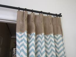 Colored Burlap Curtains Decorations Burlap Window Treatments For Cute Interior Home