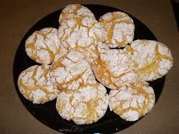 one simple country lemon snowflake cookies