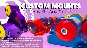 innovative mounts performance engine mount kits