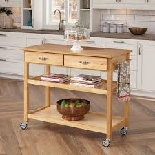 kitchen island with wood top home styles kitchen island with wood top walmart