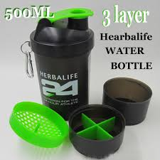 Herbalife Invitation Cards New Arrival 500ml 3 Layer Herbalife Water Bottle Food Grade