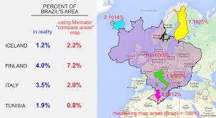 Peters Projection Map Why You Should Never Use A Mercator Projection To Compare Areas