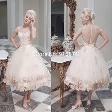aliexpress com buy vintage wedding dresses with sleeve illusion