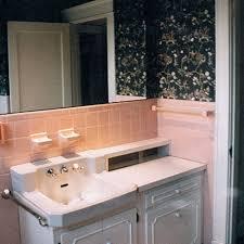 Pink Tile Bathroom Decorating Ideas Bathroom Pink Tile Bathroom Gray Walls Remodel And Blue