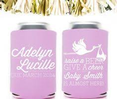 baby shower koozies personalized koozies are a and affordable favor for your