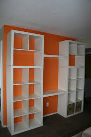 Ikea Wall Unit Hack Ikea Hack A Custom Bookshelf Desk Assembly Uniquely You Interiors