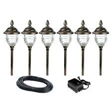 outdoor low voltage landscape lighting kits led landscape lighting sets led complete light kits low voltage