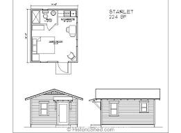 floor plans for sheds impressive shed guest house floor plan 4 cottage plans on modern