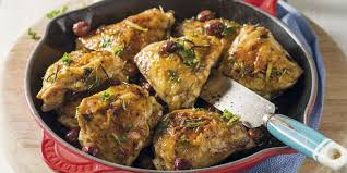 cuisiner cuisse de poulet cuisse de poulet à la poêle recettes femme actuelle
