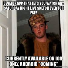 App To Make A Meme - develop app that lets you watch any saturday night live sketch