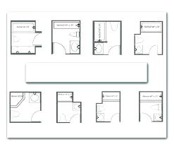powder room floor plans minimum powder room layout small bathroom floor plans source a
