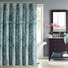 Paisley Shower Curtain Blue by Harbor House Shower Curtain Compare Prices At Nextag