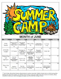 summer c calendar 2013 i this idea to devote a week to