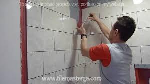 installing tile in a bathroom home design inspirations