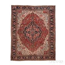 Antique Heriz Rug Search All Lots Skinner Auctioneers