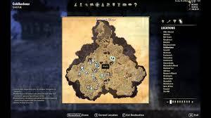 Eastmarch Ce Treasure Map Eso Coldharbor Treasure Map Ii Location Youtube