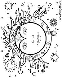 wiccan coloring pages kids coloring