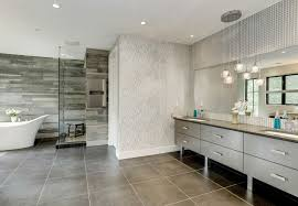 Contemporary Bathroom With Globe Pendant Lights In One Unit That - Bathroom vanity light fixture globes