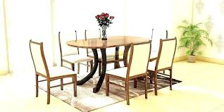 oval dining table set for 6 round dining room sets for 6 captivating oval dining tables and