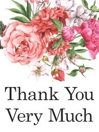 thank you flowers pink flower thank you card traditional yet beautiful this thank