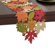 buy thanksgiving table linens from bed bath beyond