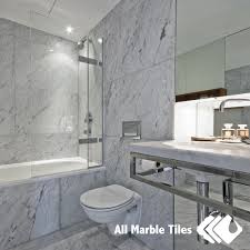 Marble Bathroom Designs by Bathroom Design With Bianco Carrara Marble Tile From Www