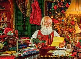 lighted santa s workshop advent calendar legacy boxed christmas cards santa s workshop