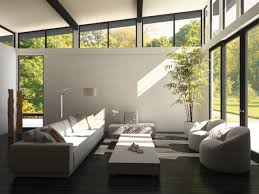 modern style sunroom with high ceilings homeyou