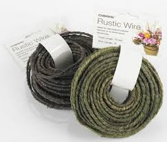 brown floral wire rustic grapevine wire brown wires and mesh floral design