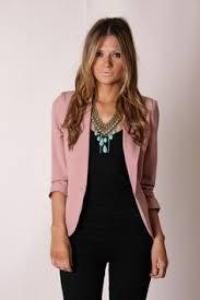 light pink blazer womens what to wear with blush blazer google search madres pinterest