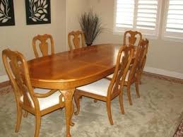 used dining room sets marvelous thomasville dining chair dining chairs cozy back