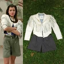 Ferris Bueller Halloween Costume Sloane Peterson Jacket Hunt