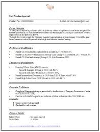 one page resume exles one page resumes exles cv and resume sles with free