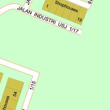 map usj 1 map of jalan industri usj 1 15