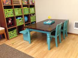 Plans For Building A Children S Picnic Table by Best 25 Kids Table Redo Ideas On Pinterest Painted Kids Chairs