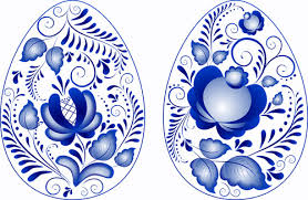 blue easter eggs easter eggs vector free vector in adobe illustrator ai ai