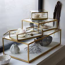 jewelry box photo frame glass shadow boxes west elm