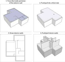How To Make A Floor Plan In Google Sketchup by How To Add Floors To A Building Model In Google Sketchup 8 Dummies