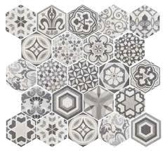 Hexagon Tile Bathroom Floor by Get 20 Vintage Bathroom Floor Ideas On Pinterest Without Signing