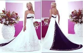 Purple Wedding Dresses New Modern Wedding Dresses White Wedding Dresses With Purple