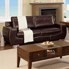 Sleek Modern Furniture by Leather Sofas Loveseats Furniture Decor Showroom