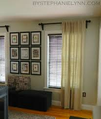 Installing Curtain Rod Cool Hang Curtain Rod Ideas With Make Your Own Wooden Curtain