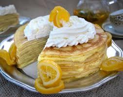 meyer lemon crepe cake pamela u0027s products gluten free