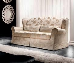 canapé fleuri style anglais canapé classique de style cottage en tissu 2 places moon cava