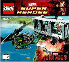 Iron Man Malibu House by Lego Iron Man Tm Malibu Mansion Attack Instructions 76007