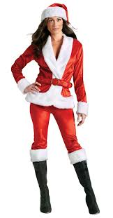 Ms Santa Pants Womens Costume Christmas  Dress for Christmas
